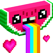 Unicorn Color By Number Pixel Art Coloring Games App