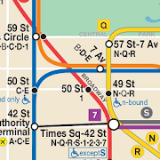 Mobile Nyc Subway Map.Map Of Nyc Subway Offline Mta App Ranking And Market Share Stats In