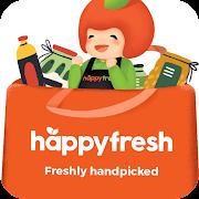 HappyFresh - Grocery & Food Delivery Online Mobile App Ranking